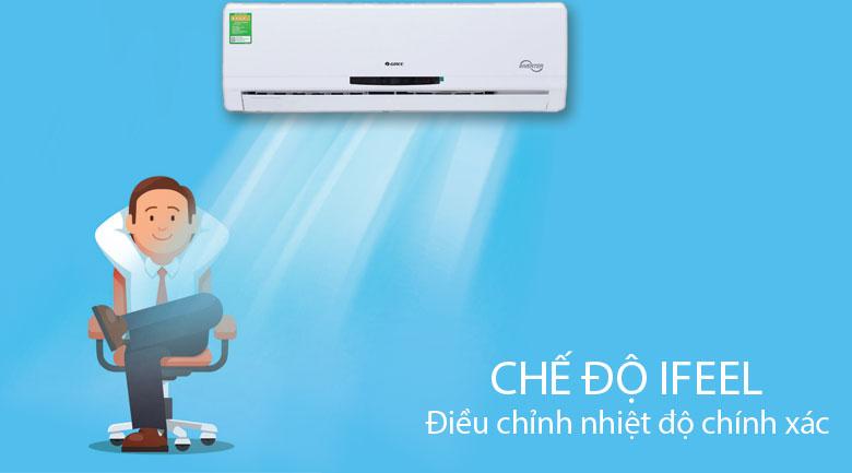 chế độ điều chỉnh nhiệt độ iFeel - Điều hòa treo tường Gree GWC12MA-K3DNC2I Inverter 1.5HP