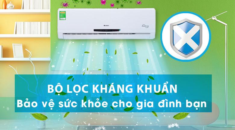 Bộ lọc chống nấm mốc - Điều hòa treo tường Gree GWC12MA-K3DNC2I Inverter 1.5HP