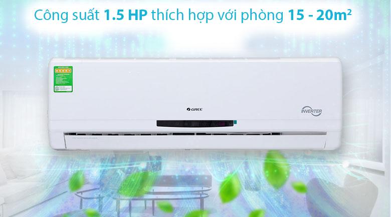 thiết kế Điều hòa treo tường Gree GWC12MA-K3DNC2I Inverter 1.5HP