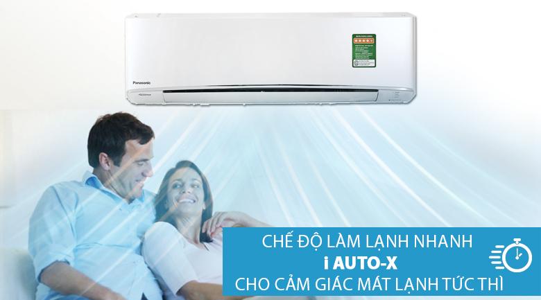 Làm lạnh nhanh - Điều hòa 2 chiều Panasonic Inverter 8530 BTU CU/CS-Z9TKH-8
