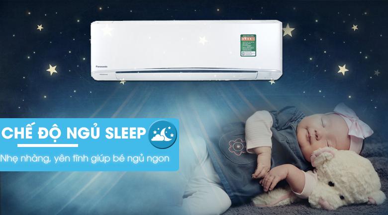 Chế độ ngủ sleep - Điều hòa 2 chiều Panasonic Inverter 8530 BTU CU/CS-Z9TKH-8