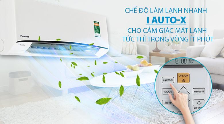 iAutoX - Điều hòa 2 chiều Panasonic Inverter CU/CS-Z12TKH-8