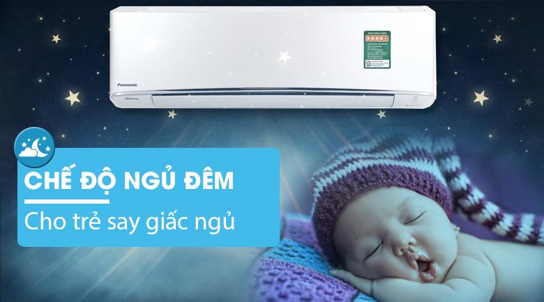 Chế độ ngủ đêm - Điều hòa 2 chiều Panasonic Inverter CU/CS-Z12TKH-8