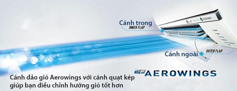 Công nghệ cánh đảo gió Aerowings