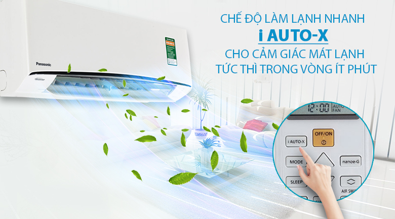 iAutoX - Điều hòa 2 chiều Panasonic 17100 BTU CU/CS-Z18TKH-8