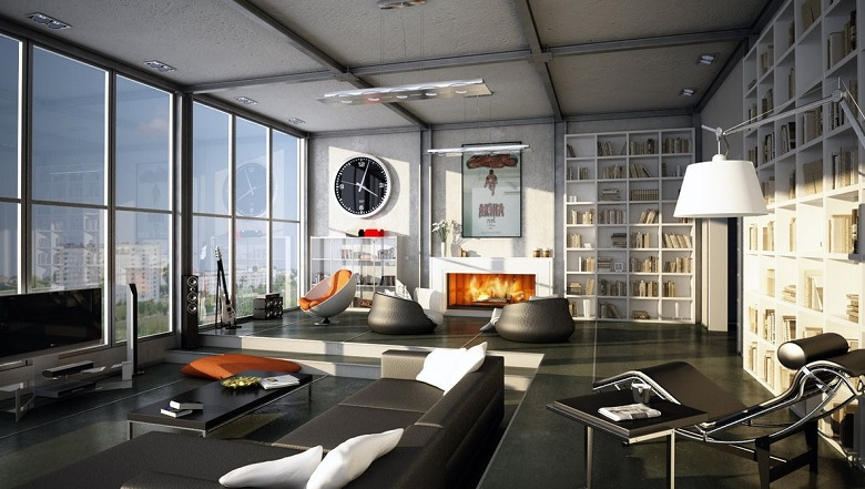 Phù hợp với căn phòng có diện tích 20-30 m2