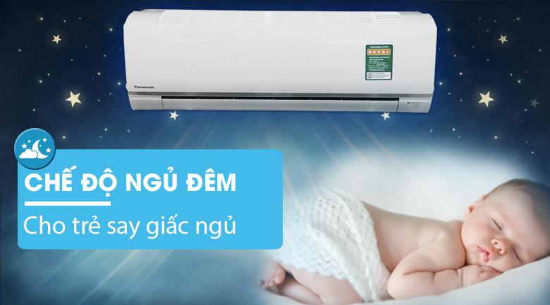 Chế độ ngủ đêm - Máy lạnh Panasonic Inverter 1.5 HP CU/CS-PU12TKH-8