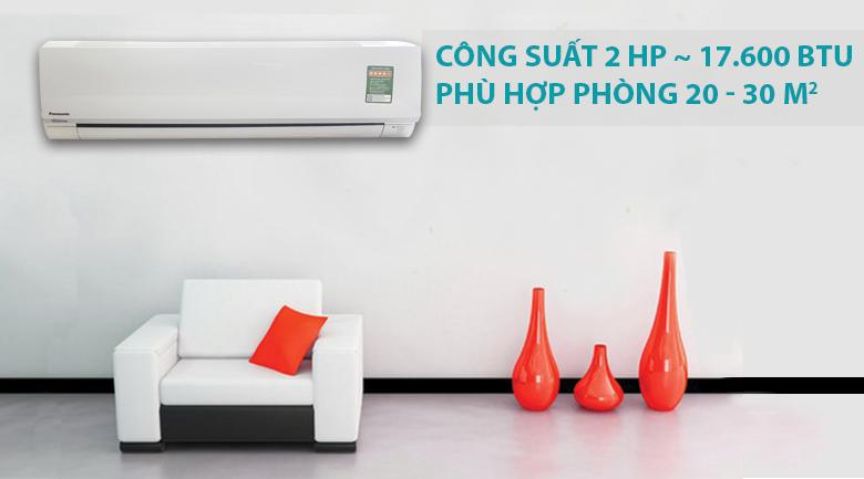 Máy lạnh Panasonic Inverter 2 HP CU/CS-PU18TKH-8