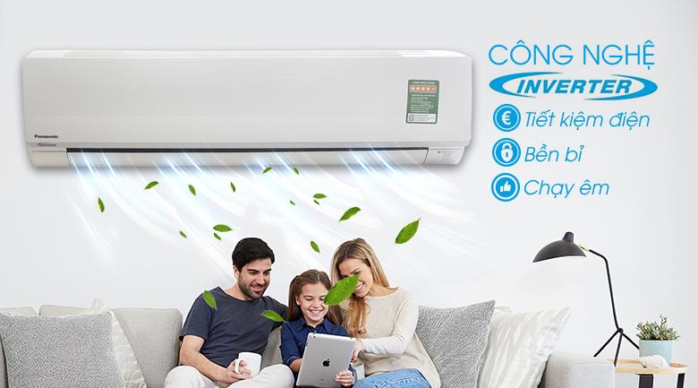 Công nghệ biến tần Inverter - Máy lạnh Panasonic Inverter 2 HP CU/CS-PU18TKH-8