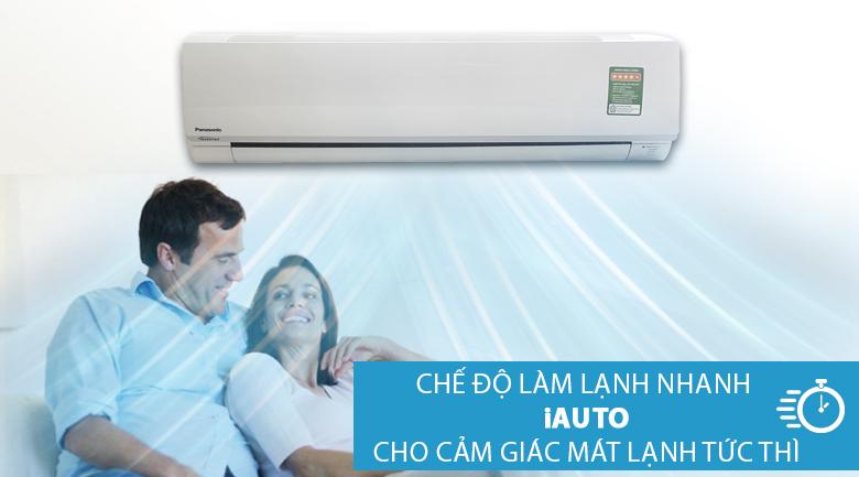 Chế độ iAUTO - Máy lạnh Panasonic Inverter 2 HP CU/CS-PU18TKH-8