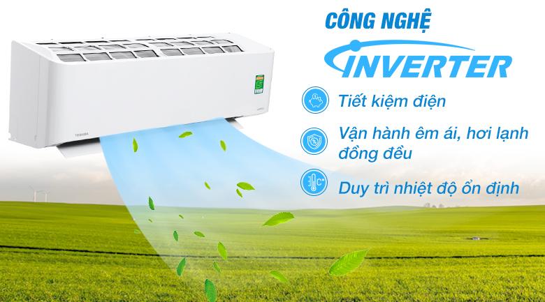 Inverter - Máy lạnh Toshiba Inverter 2 HP RAS-H18PKCVG-V