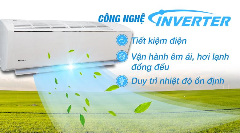 Công nghệ inverter - Máy lạnh Gree Wifi Inverter 1.0 HP GWC09QB-K3DNB6B