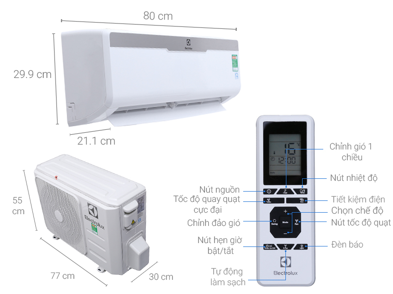Máy lạnh Electrolux 1 HP ESM09CRM-A3 0