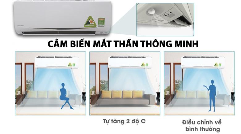 Cảm biến mắt thần thông minh - Máy lạnh Daikin Inverter 1.5 HP FTKC35RVMV