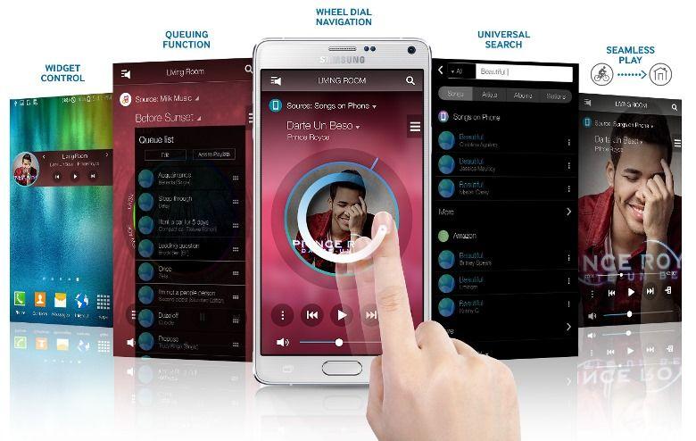 Loa 360 Samsung WAM7501 - Multiroom