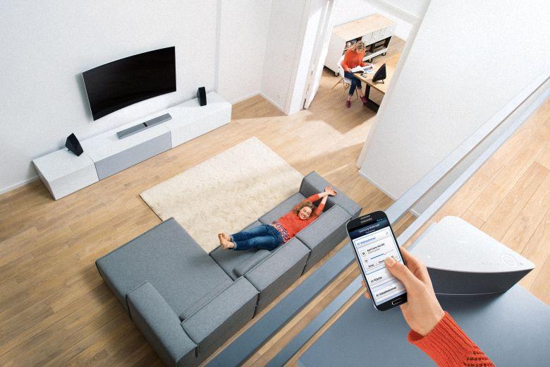 Loa Soundbar 8.1 Samsung HW-J7501/XV - Kết nối đa phòng