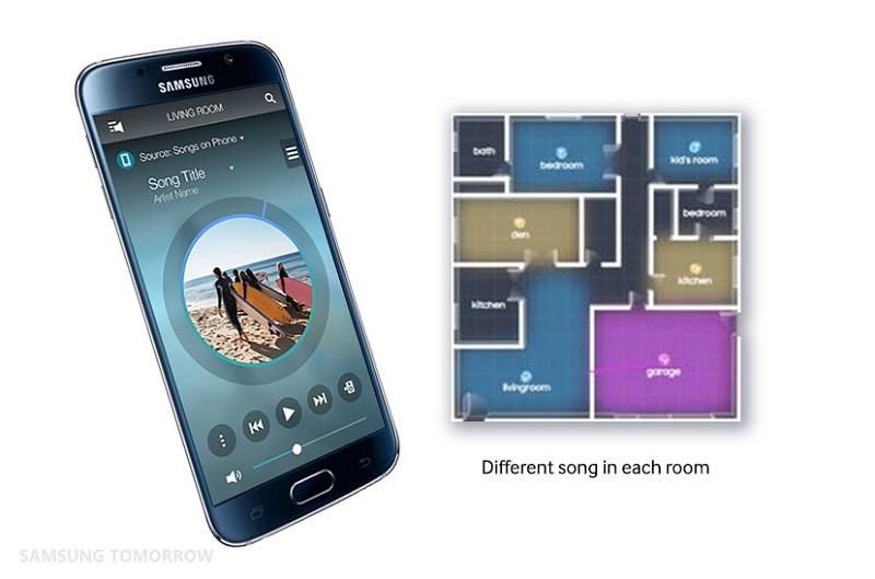 Loa thanh Samsung HW-J7501R - Kết nối không dây hiện đại