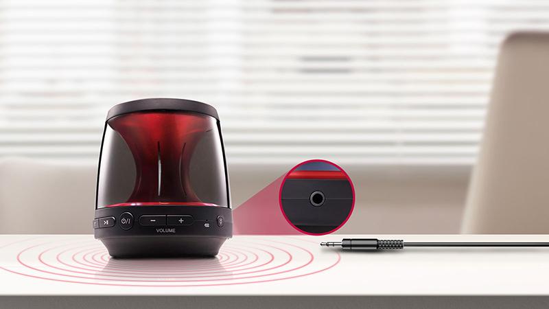 Loa Bluetooth LG PH1. AVNMLLK - Cắm tai nghe