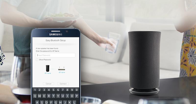 Loa không dây Samsung 360 WAM1500 - Kết nối bluetooth