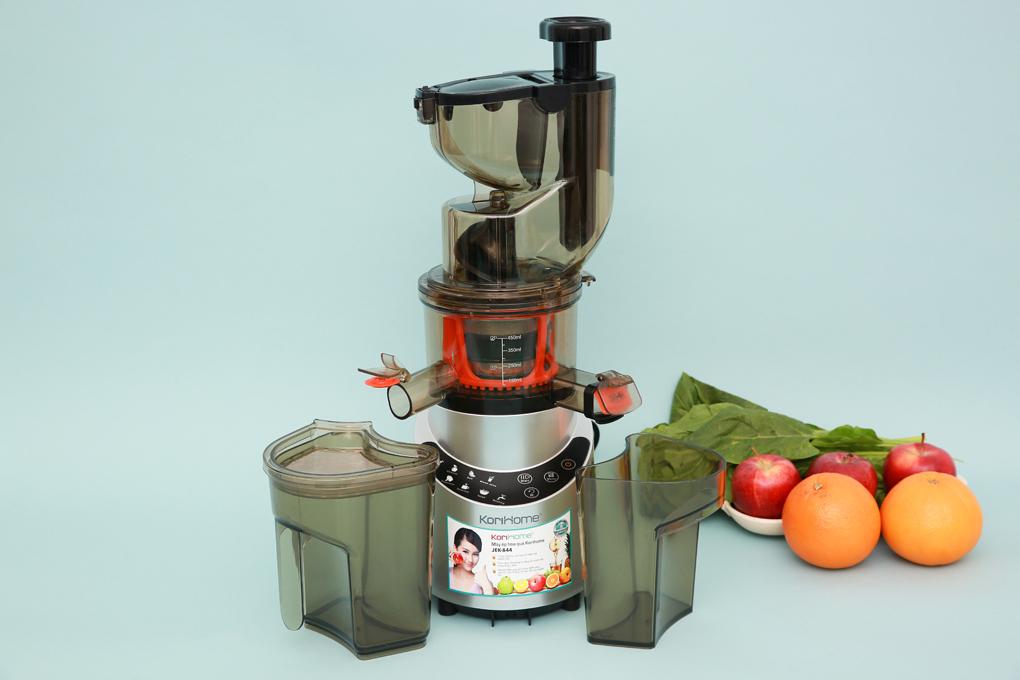 Có thiết kế đơn giản, sang trọng - Máy ép chậm trái cây Korihome JEK-844
