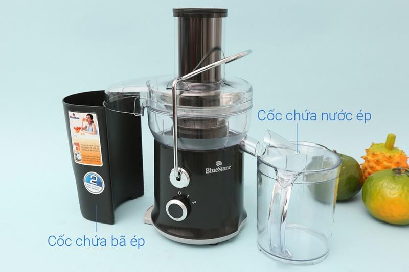 Cốc chứa bã ép, cốc đựng nước ép lớn, dung tích 1 lít - Máy ép trái cây Bluestone JEB 6535