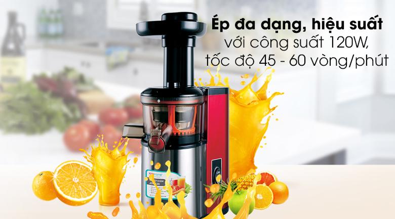 Máy ép trái cây Korihome JEK-636 - Công suất 120W, tốc độ ép 45 - 60 vòng/phút