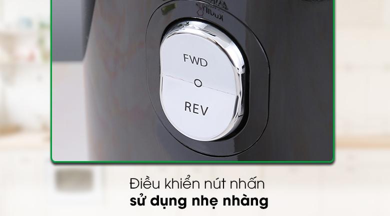 Máy ép chậm Kuvings EVO820 đen - Có điều khiển nút nhấn