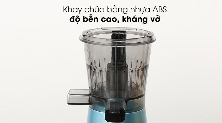 Máy ép chậm Kalite KL-530 - Dung tích khay chứa 250 ml, làm từ nhựa ABS dày chắc