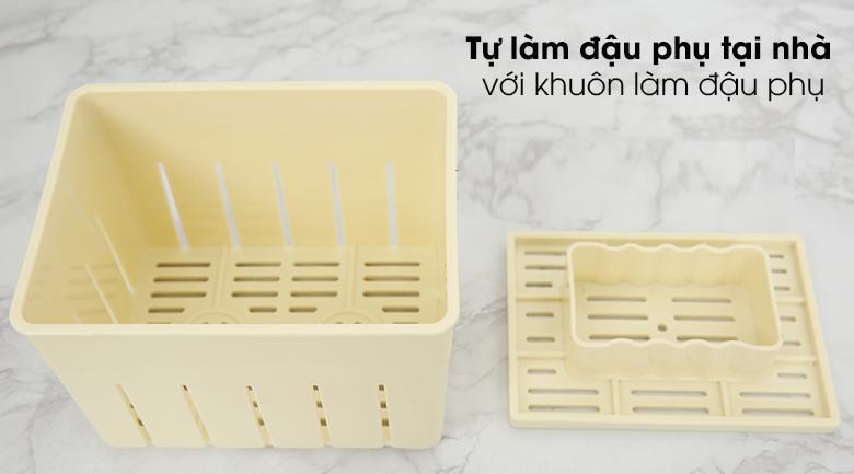 Máy ép chậm Kalite KL-599 - Có khuôn làm đậu phụ đi kèm cho người nội trợ tự làm đậu phụ tại nhà sạch sẽ hơn