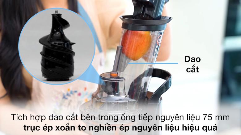 Ống tiếp nguyên liệu - Máy ép chậm Kalite KL-565