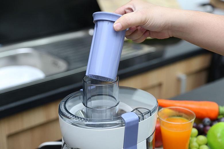 Ống dẫn thực phẩm có dạng tròn, dễ tiếp nguyên liệu