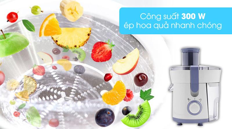 Công suất xay ép tốt - Máy ép trái cây Philips HR1811