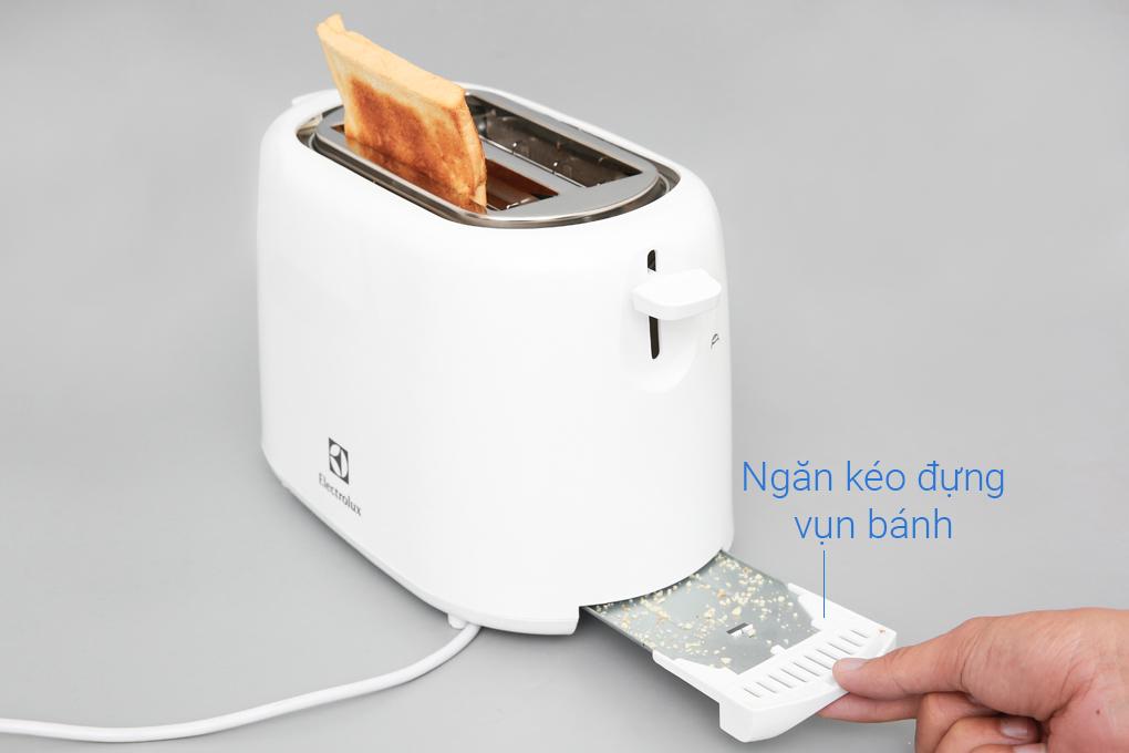 Khay đựng vụn bánh mì - Máy nướng bánh mì Electrolux ETS1303W