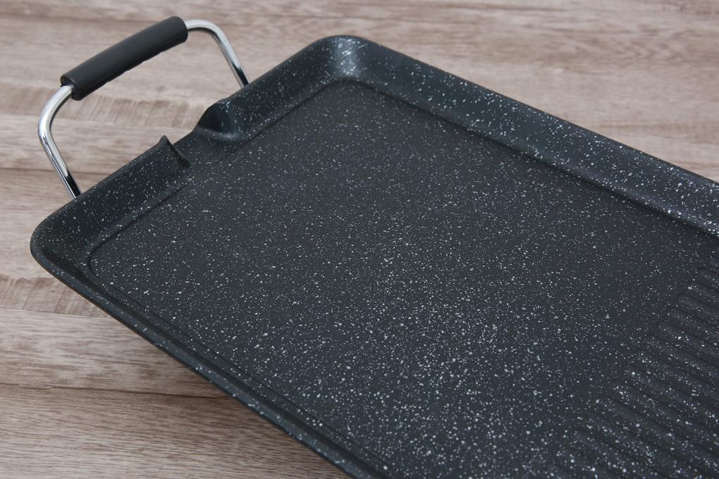 Mặt bếp phủ lớp chống vân đá hoa cương Whitford tiêu chuẩn Mỹ bền bỉ - Bếp nướng điện Sunhouse SHD4600