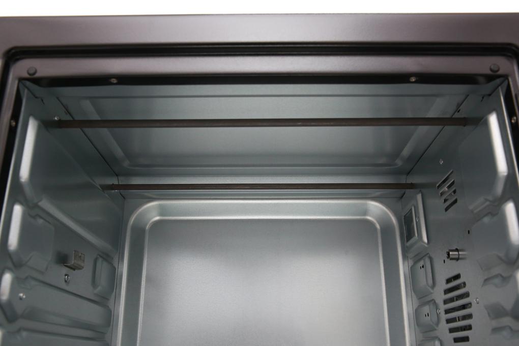 Khoang lò bằng thép không gỉ phủ sơn tĩnh điện, dễ làm sạch sau khi sử dụng - Lò nướng Midea MEO-38AGY8 38 lít