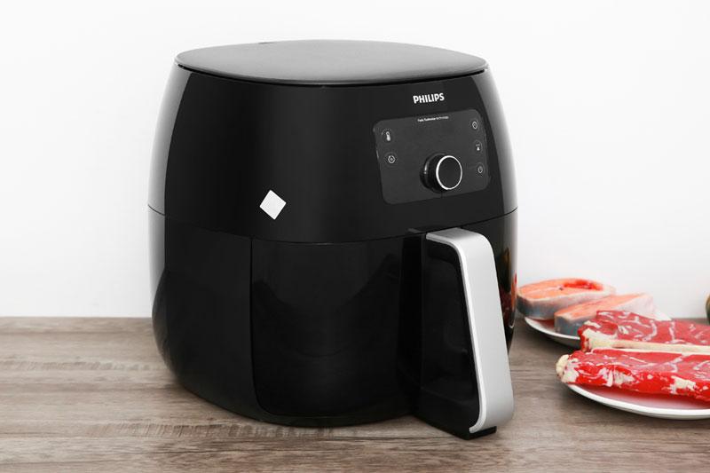Thiết kế - Nồi chiên không dầu Philips HD9650