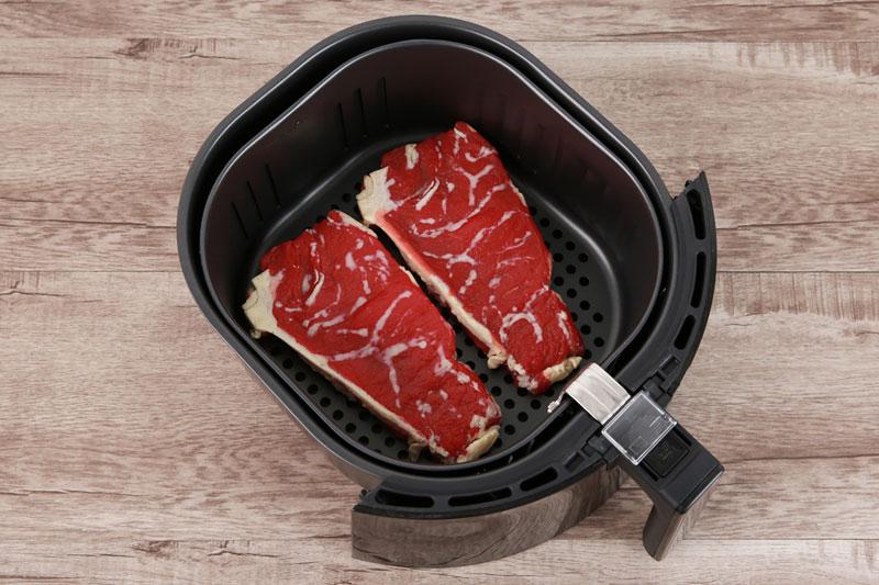 Sử dụng chiên, nướng thực phẩm không cần dùng dầu - Nồi chiên không dầu Kangaroo KG55AF1A 5.2 lí