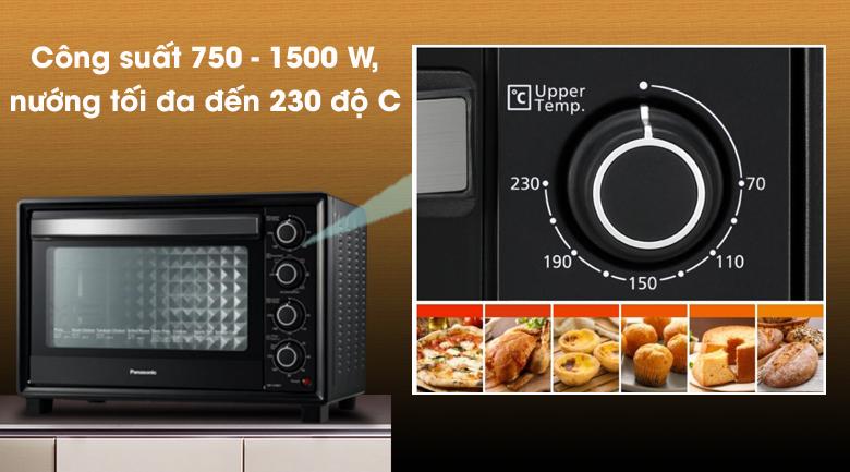 Nướng ngon - Lò nướng Panasonic NB-H3801KRA 38 lít
