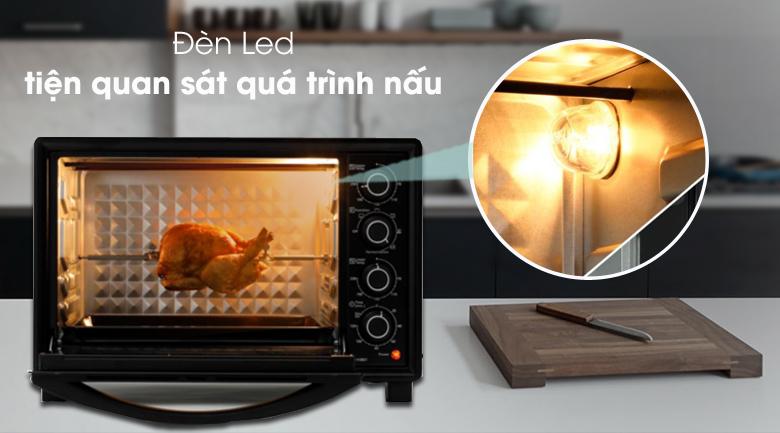 Đèn trong khoang lò - Lò nướng Panasonic NB-H3801KRA 38 lít