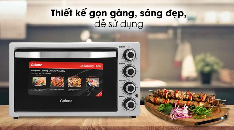 Lò nướng Galanz KWS2042LQ-H8UK 42 lít - Thiết kế theo kiểu lò nướng thùng gọn gàng