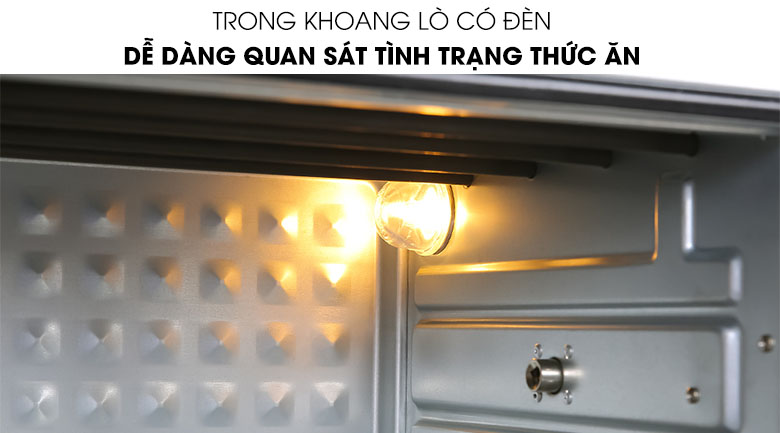Khoang Lò nướng Unie Q36 25 lít có đèn