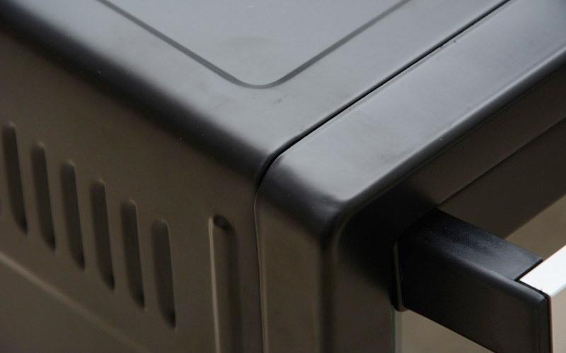 Vỏ ngoài thép lớp sơn tĩnh điện