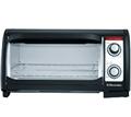 Lò nướng để bàn Electrolux EOT3000, nướng thịt, bánh mì, màu đen