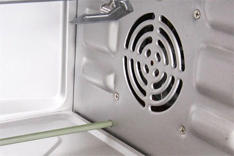Quạt đối lưu đảo nhiệt giúp thực phẩm chín đều và nhanh