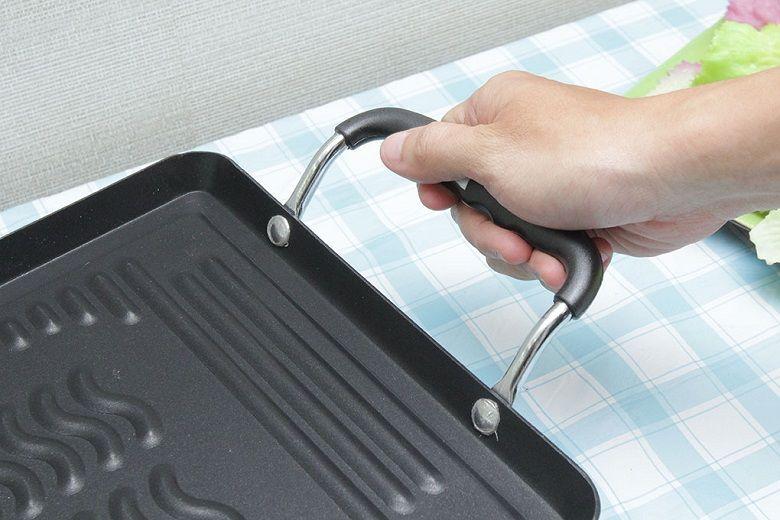Tay cầm cách nhiệt mang đến sự an toàn khi sử dụng