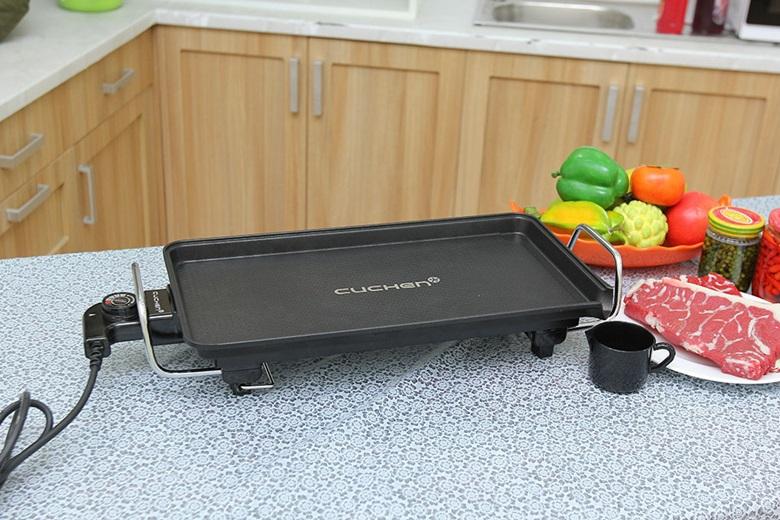 Mặt bếp nướng chống dính, dễ làm sạch
