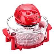 Lò nướng thủy tinh Sanaky VH 158D Màu Đỏ 15 lít 15 lít