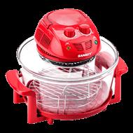 Lò nướng thủy tinh Sanaky VH 158D Màu Đỏ 15 lít