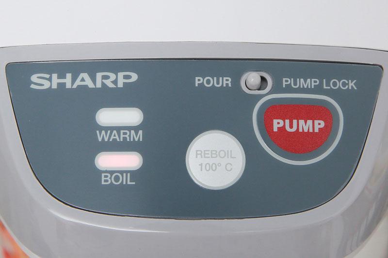 Điều khiển nút nhấn - Bình thủy điện Sharp KP-Y32PV-CU 3 lít
