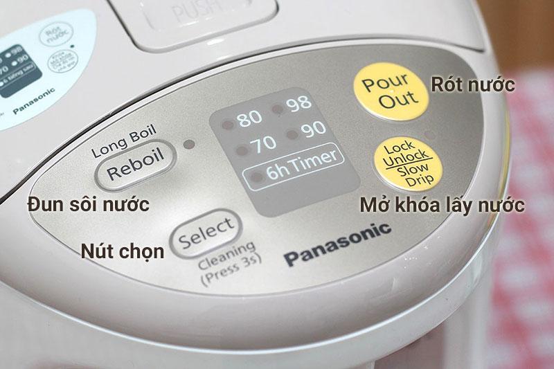 Bình thủy điện Panasonic NC-EG2200CSY 2.2 lít